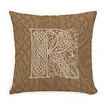Celtic Letter R Master Pillow