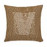 Celtic Letter V Master Pillow