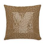 Celtic Letter Y Master Pillow