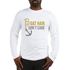 Boat Hair Long Sleeve T-Shirt