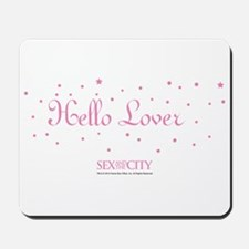 Hello Lover in Stars Mousepad