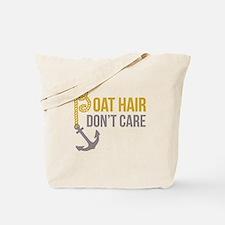 Boat Hair Tote Bag