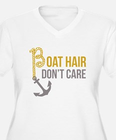 Boat Hair Plus Size T-Shirt