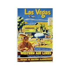 Las Vegas #2 Rectangle Magnet (10 pack)