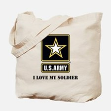 Personalize Army Tote Bag