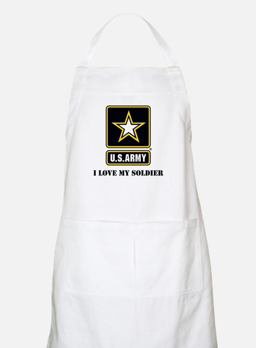 Personalize Army Apron
