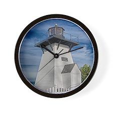 Olcott Beach 1 Wall Clock