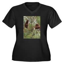 Pinecones Plus Size T-Shirt