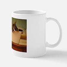 Cat in a Tub Mug