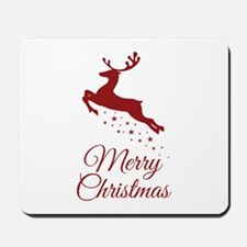 Reindeer Christmas Magic Mousepad
