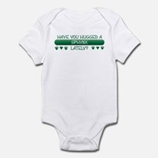 Hugged Sphynx Infant Bodysuit
