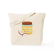 Rosh Hashana Blessings Tote Bag