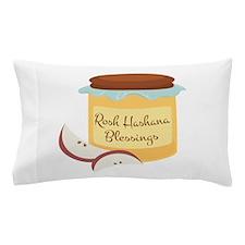 Rosh Hashana Blessings Pillow Case