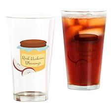 Rosh Hashana Blessings Drinking Glass