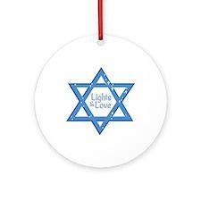 Lights & Love Ornament (Round)
