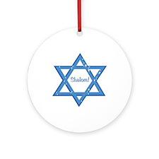 Shalom! Ornament (Round)