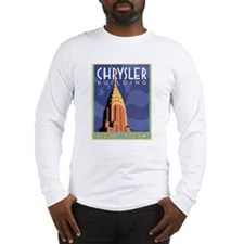 NY, Chrysler Building Long Sleeve T-Shirt