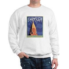 NY, Chrysler Building Sweatshirt