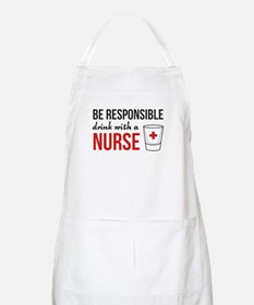 Drink With A Nurse Apron