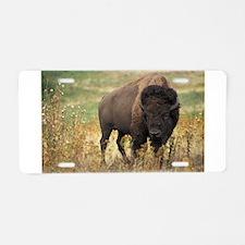 american bison Aluminum License Plate