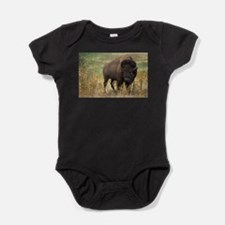 american bison Baby Bodysuit