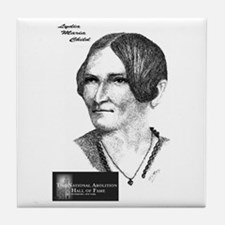 Lydia Maria Child Tile Coaster