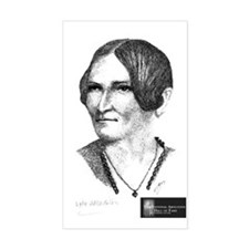 Lydia Maria Child Rectangle Decal