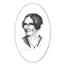 Lydia Maria Child Oval Decal