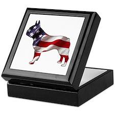 American Frenchie Keepsake Box