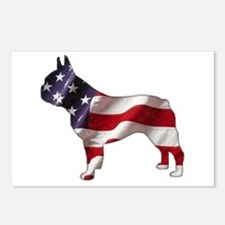American Frenchie Postcards (Package of 8)