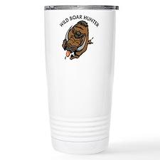 Cute Wild boar Travel Mug