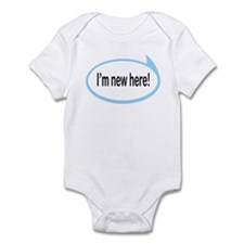 I'm New Here! Funny Baby/Toddler Onesie