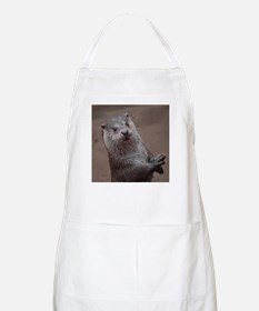 Sweet young Otter Apron