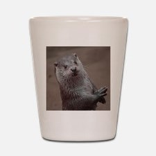 Sweet young Otter Shot Glass