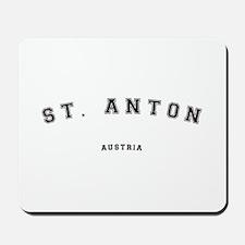 St. Anton Austria Mousepad