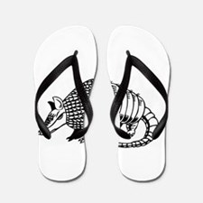 armadillo Flip Flops