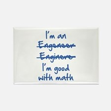 I'm Good With Math Rectangle Magnet (100 pack)