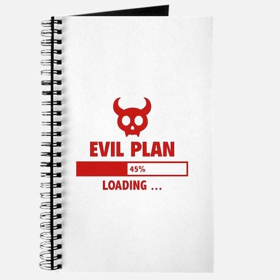 Evil Plan Loading Journal