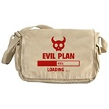 Evil plan Messenger Bags & Laptop Bags