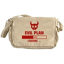 Evil Plan Loading Messenger Bag