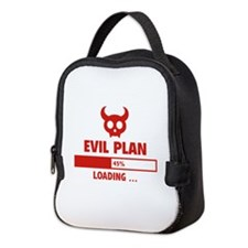 Evil Plan Loading Neoprene Lunch Bag
