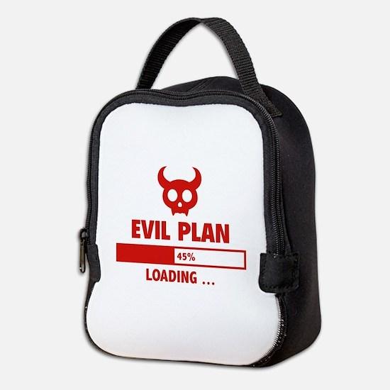 Evil Plan Loading Neoprene Lunch Bag