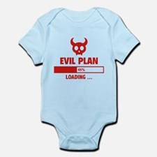 Evil Plan Loading Infant Bodysuit