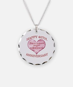 40th. Anniversary Necklace