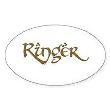 Ringer 21 Oval Decal