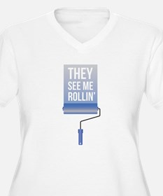 They See me Rollin' Plus Size T-Shirt