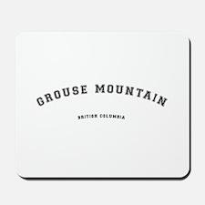 Grouse Mountain British Columbia Mousepad