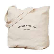 Grouse Mountain British Columbia Tote Bag