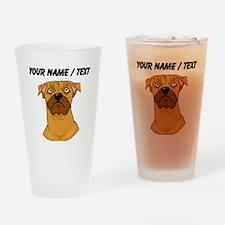 Boxer Face (Custom) Drinking Glass