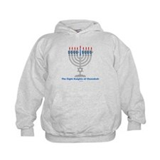 Eight Knights Of Chanukah Hoodie